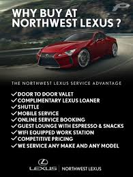 lexus service centre why buy here northwest lexus