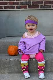 Cute 1 Halloween Costumes Cutest 80 U0027s Workout Girls Couple Costume Toddlers Workout