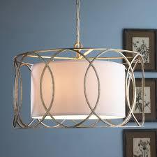 sausalito 25 wide silver gold pendant light drum shade circlet lantern circlet drum shade and drums