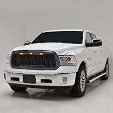 dodge ram white grill amazon com eag vicious conversion replacement abs grille