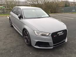2016 Audi Rs3 Black Pack Conversion S Tronic Nardo Grey In