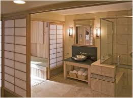 japanisches badezimmer ruhiges japanisches badezimmer mit ruhigen shoji bildschirmen