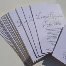 Customized Wedding Invitations Wedding Invitations Thermofast Printing