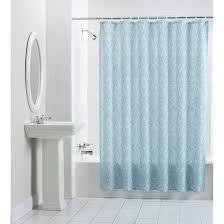 Shower Curtains For Blue Bathroom Light Blue Shower Curtain Curtains Ideas