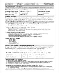 Catering Manager Resume Sales Manager Resume Template Field Operations Manager Resume