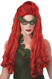 Poison Ivy Womens Halloween Costumes Amazon California Costumes Women U0027s Lethal Beauty Wig Long Ivy