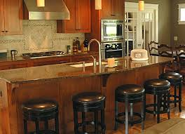 kitchen island with barstools setting up a kitchen island with seating