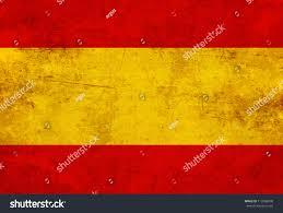 Flags In Spanish Spanish Flag Vintage Old Look Stockillustration 112486700
