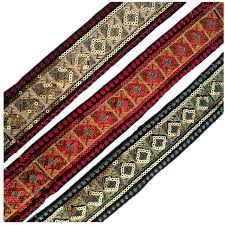 woven ribbon invincible high quality folk customs 50cmx3yards embroidery