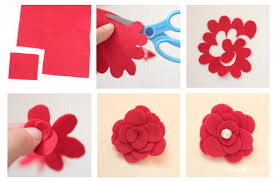 felt flowers how to make a felt flower repeat crafter me