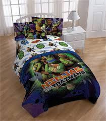Ninja Turtle Comforter Set Amazon Com Nickelodeon Teenage Mutant Ninja Turtles U0027stars U0027 3