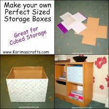karima s crafts diy cardboard storage box tutorial