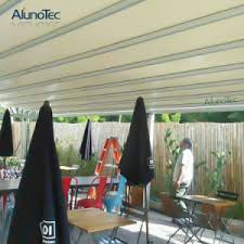 china weatherproof motorized retractable pergola roof for outdoor