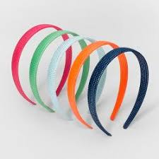 goody headbands goody value shoestring fabric headbands 10ct target