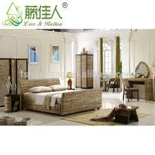 chambre en rotin hotsale resort tropicales vintage style osier rotin hôtel chambre