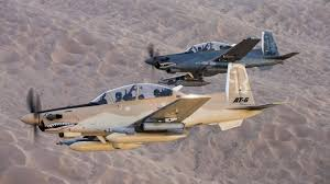 at 6 light attack aircraft three planes will square off in the usaf s light attack experiment