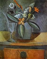 cubism flower painting pablo picasso cubism