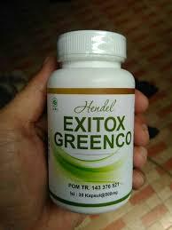 exitox greenco asli handel pelangsing badan terbaik 100 herbal alami