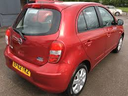 nissan micra 1 2 acenta 5dr manual for sale in swadlincote mj