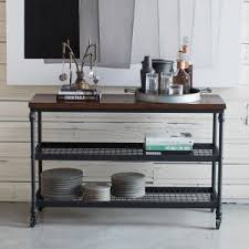 Industrial Console Table Distressed Industrial Style Console Tables Hayneedle