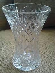 Vintage Cut Glass Vases Vintage Cut Glass Vase 14 5cm Tall Excellent Quality Ebay