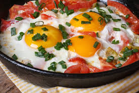 cuisiner oeuf tomates aux oeufs