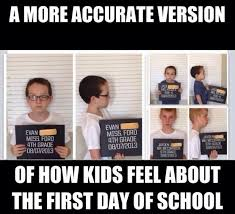 School Sucks Meme - the lifecycle of back to school can i be frank crew