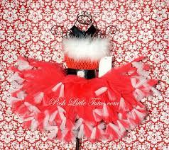 girly miss santa claus girls holiday crochet tutu dress christmas