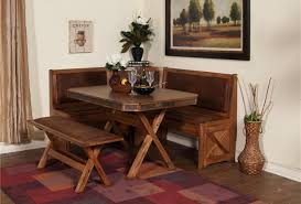 bench dining room table with corner bench seat amazing wooden