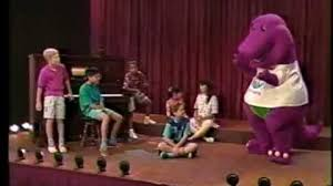Barney And Backyard Gang Video Barney U0026 The Backyard Gang Rock With Barney 1991