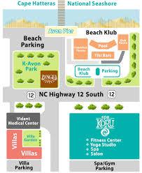 Map Of Outer Banks Nc Map Koru Village