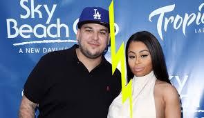 blac chyna leaked rob kardashian u0026 blac chyna confirm split with long instagram