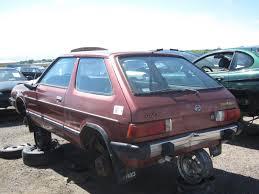 subaru hatchback 2011 junkyard find 1982 subaru gl