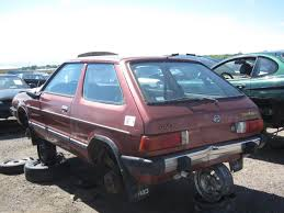 wish upon the pleiades car junkyard find 1982 subaru gl