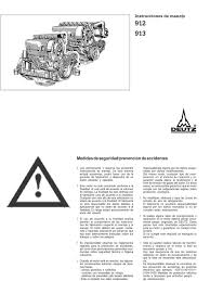 deutz 912 913 manual del operador