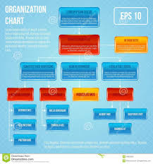 organisational chart infographic stock vector image 39850861 business flowchart hierarchy illustration structure vector