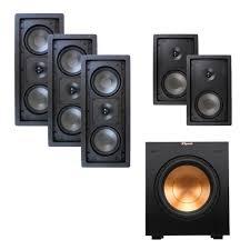 klipsch home theater speakers klipsch r 2502 w ii home theater package audiogurus store
