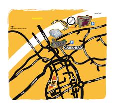 Tyne Metro Map by Q Festival Fri 14 July Sun 6 Aug 2017 Information