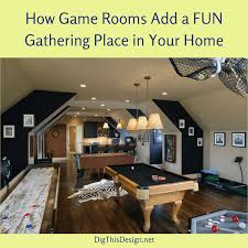 Games Design Your Home by Games Room Why Every Home Should Have One Dig This Design