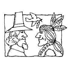 coloriage indiens et cowboys a imprimer gratuit