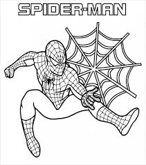 20 spiderman coloring pages jpg psd ai illustrator download