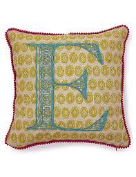 alphabet e cushion m u0026s