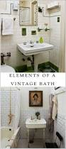Vintage Bathroom Design Colors Best 25 Vintage Bathrooms Ideas On Pinterest Tiled Bathrooms