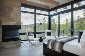 interior glass walls for homes ski homes with walls of glass thanks to new technology wsj