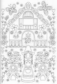 scandinavian coloring book pg 32 color pages stencils
