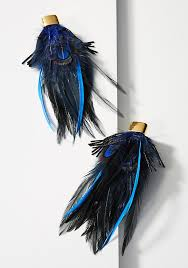 feather earrings polly feather earrings anthropologie