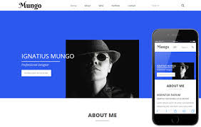 Resume Website Template Free Mungo A Resume Portfolio Flat Bootstrap Responsive Web Template By