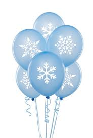 snowflake balloons winter christmas snowflake stickers for by zestygraphics