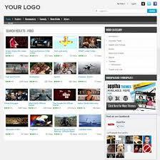 joomla video plus video plus theme video gallery template