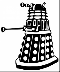 amazing doctor who dalek coloring pages with doctor who coloring